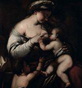 Luca Giordano (Napoli 1634-1705), ambito di, Allegoria della Carità - olio su tela, [...]