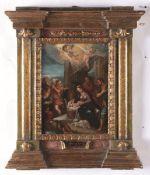 Johann Rottenhammer (Monaco di Baviera 1564 - Augusta 1625), Adorazione dei pastori - [...]