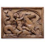 A terracotta relief, Italy, 1600s - cm 61x45x5 Il grande rilievo allegorico che trae [...]