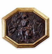 A painted stucco, A. Algardi, Italy, mid 1600 - Cm 34x28. Opera pubblicata in: [...]