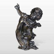 A bronze putto, Italy, 1600s - altezza cm 30 -