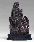 A jasper sculpture, Flanders, Central Europe, 1400s - Altezza cm 38. La composizione, [...]