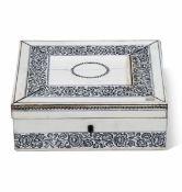 A makeup box, Vizagapathan, India, 17/1800s - cm 20x16x7 -