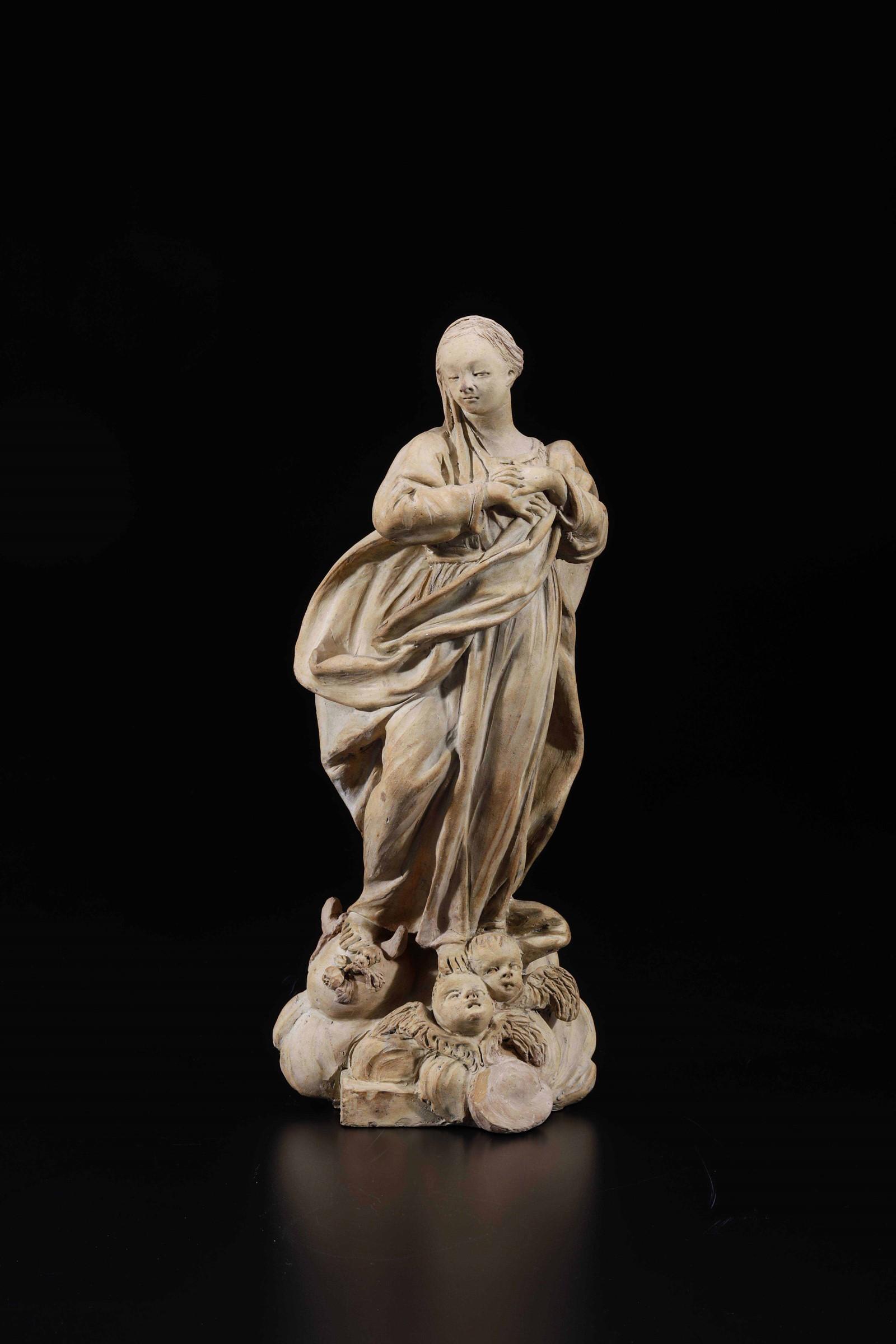 A sculpture, attr. Mazza, Bologna, 1700s - altezza cm 32,5 Il modello compositivo e [...]