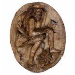 """A wood relief of winter, Genoa, 1725-30ca - cm 43x29,5. Opera pubblicata in """"Lo [...]"""