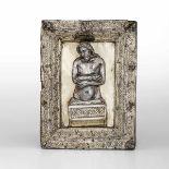 A Risen Christ, Italy, late 1400s - cm 18x14 (modifiche e restauri). La figura del [...]