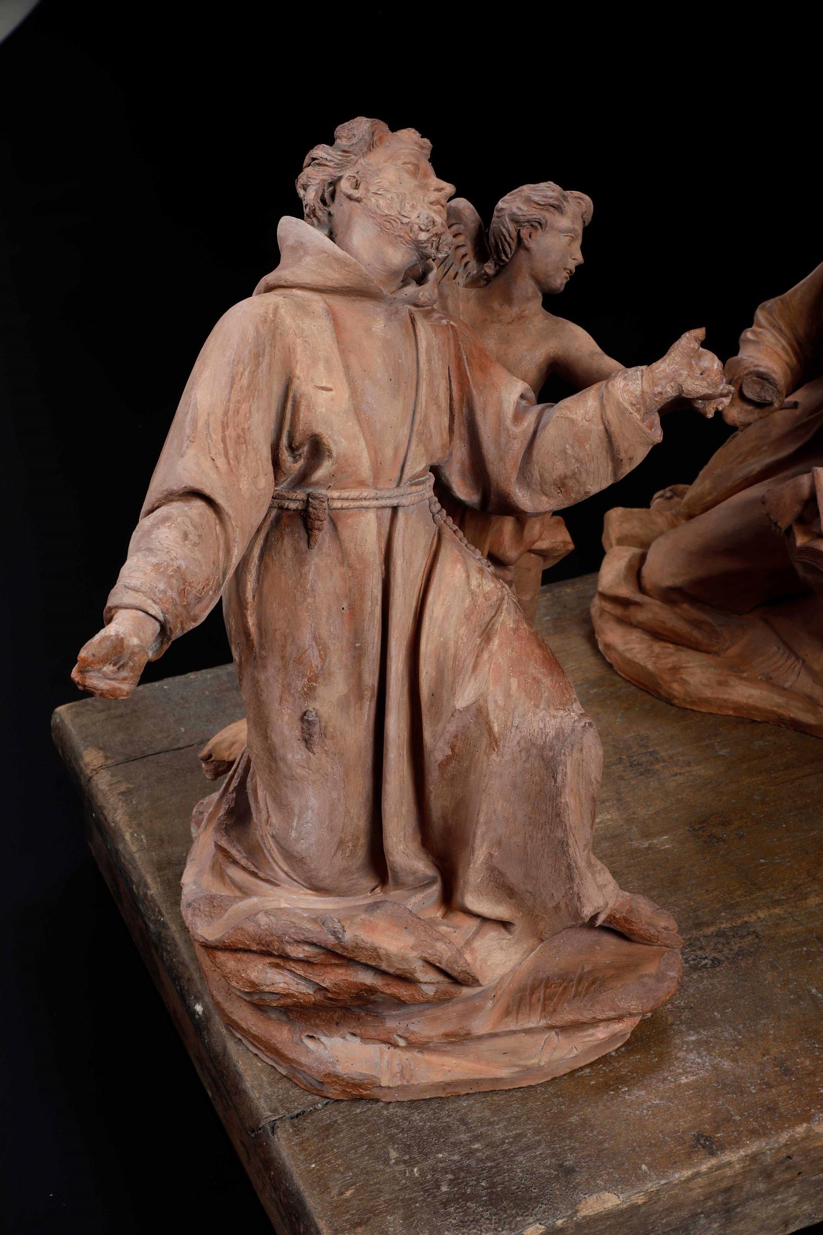 St Michael, A.M. Maragliano, Genoa, 1694 - La straordinaria raccolta qui presentata [...] - Image 5 of 15