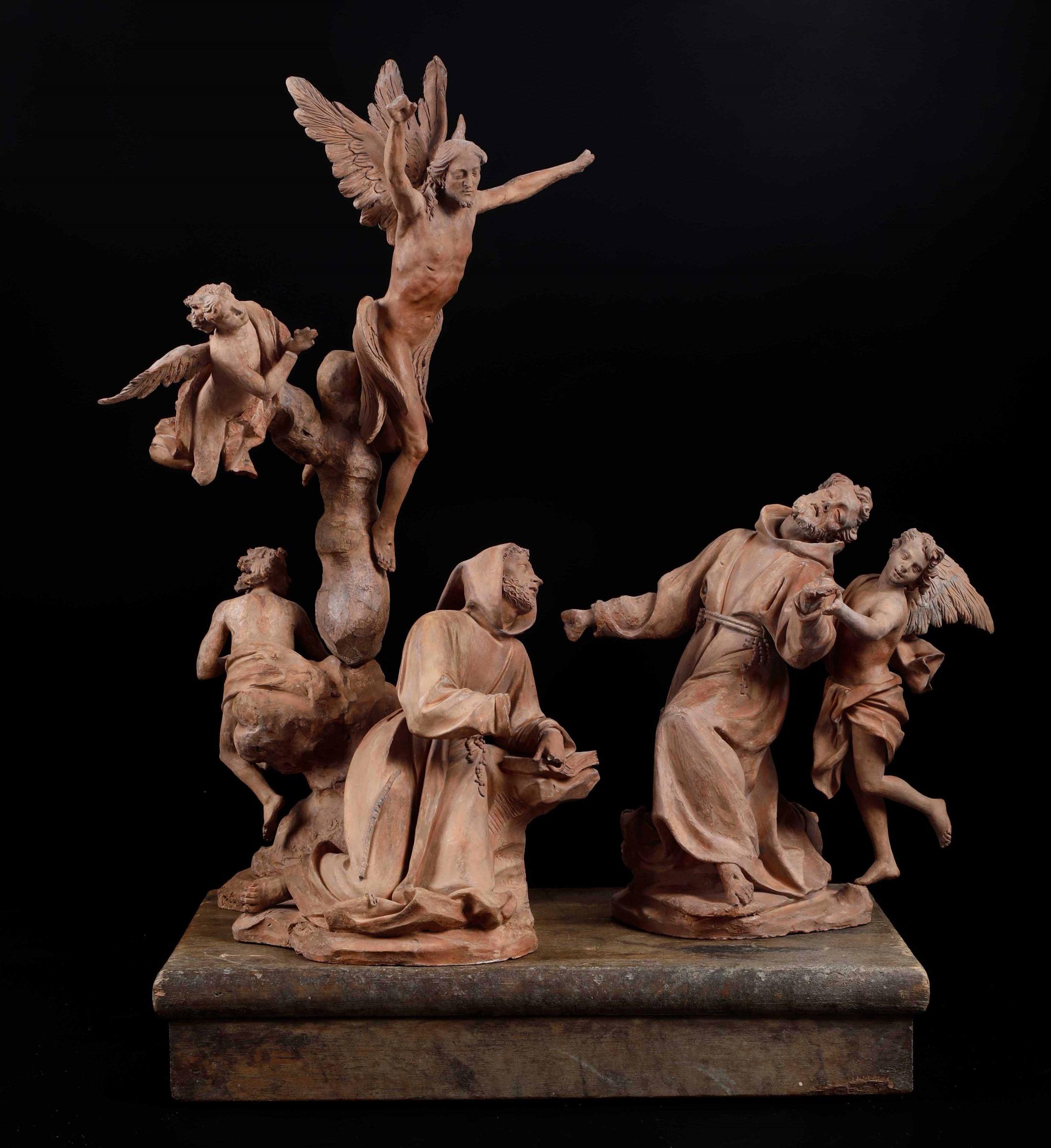 St Michael, A.M. Maragliano, Genoa, 1694 - La straordinaria raccolta qui presentata [...] - Image 14 of 15