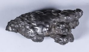 A Silver Nodule of Naturalistic Form, 4ins overall, weight 15.95ozs