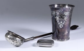 "An Elizabeth II Silver Beaker of ""17th Century"" Design, by A. Haviland-Nye, London 1969, the"