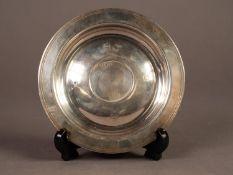 LIMITED EDITION ?QUEEN ELIZABETH II ROYAL LINEAGE? SILVER ARMADA DISH, 5? (12.7cm) diameter,