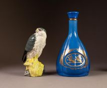 TWO WHYTE & MACKAY SCOTCH WHISKY POTTERY DECANTERS AND STOPPERS, comprising: ROYAL DOULTON ?