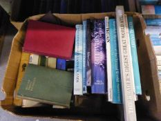 A LARGE SELECTION OF BOOKS, VARIOUS AUTHORS AND SUBJECTS