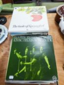 A QUANTITY OF VINYL LP RECORDS, TO INCUDE; GREEN VELVET, MORE HITS OF THE ANDREWS SISTERS, GLEN