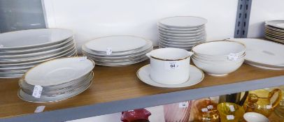 A QUANTITY OF 'THOMAS OF GERMANY' DINNER WARES TO INCLUDE; PLATES, BOWLS ETC.... (APPROX 34 PIECES )