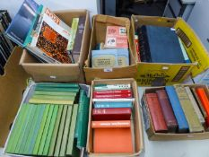 SIX BOXES OF BOOKS TO INCLUDE; THE ROSE ANNUAL (1957-1968) , THE HERRIES CHRONICLE BY HUGH