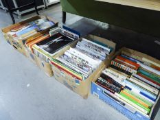 A LARGE QUANTITY OF BOOKS, VARIOUS AUTHORS AND SUBJECTS (4 BOXES)