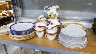 A SELECTION OF TEA WARES TO INCLUDE; DUCHESS 'WINCHESTER' TEA CUPS, SAUCER, SIDE PLATES, MILK JUG