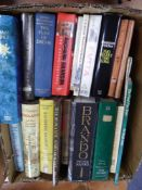 VARIOUS AUTHORS SUNDRY WORKS, mainly hardback, including: BRANDO, THE BIOGRAPHY, by Peter Manso,