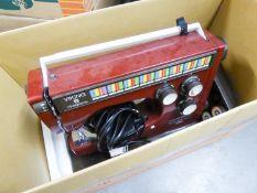 HUQUARNA VIKING ELECTRIC PORTABLE SEWING MACHINE