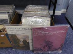 VINYL RECORDS, CLASSICAL. Beethoven String Quartet, Philips, SAL 3638. Vaughan Williams, Fantasia on