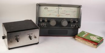 EDDYSTONE MODEL 940 RADIO RECEIVER, together with a separate ARIEL TUNER, unbranded, and a SMALL