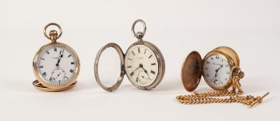 A LATE VICTORIAN SILVER CASED OPEN FACE KEY-WIND GENTLEMAN'S POCKET WATCH, by John Taylor, Chatburn,
