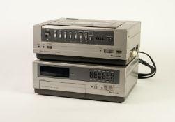 PANASONIC NV-3000 VIDEO CASSETTE RECORDER, together with a PANASONIC NV-V300 14 DAY 8 PROGRAMME