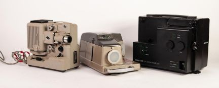 ALDIS 303 SLIDE PROJECTOR, together with a SILMA S 101 PROJECTOR and an EUMIG P8 PROJECTOR, all in