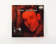 VINYL RECORD, ROCK ?N? ROLL. Dance Album of Carl Perkins, London, HA-S 2202. Original purple grooved