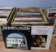 VINYL RECORDS JAZZ. Jazz Quartet of Szekszard- Faith, Patria. Humph & Wally, ?it seems like