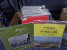 VINYL RECORDS, CLASSICAL. Klemperer-Mozart Symphonies, Columbia, Sax 5256 (red semi label).