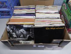 VINYL RECORDS SINGLES, EPS. Elvis Presley- Love me Tender, HMV, 7EG8199. Together with various other