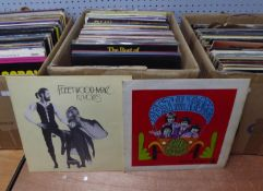 VINYL RECORDS. The Troggs-Best of the Troggs, Page One (FOR 001). Fleetwood Mac-Rumours, Warner