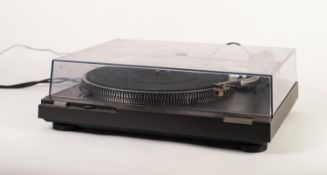 TECHNICS SL-D2-K DIRECT DRIVE AUTOMATIC TURNTABLE, in original box, with instruction manual