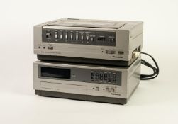 PANASONIC NV-3000 VIDEO CASSETTE RECORDER, together with a PANASONIC NV-V300 14 DAY 8 PROGRAMME