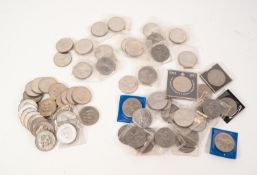 62 ELIZABETH II CROWN COINS comprising 22 Charles & Diana Royal Wedding 1981 crowns; 2 Churchill