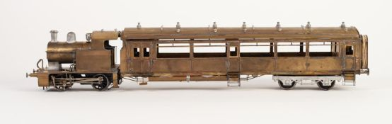 KIT BUILT 'O' GAUGE MODEL OF A L.M.S. ex LYR RAIL MOTOR No., 10617, (virtually complete but