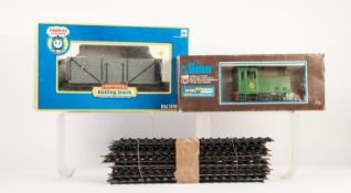 LIMA BOXED 'O' GAUGE TWO RAIL 0-4-0 DIESEL SHUNTING LOCOMOTIVE, No. D2852 in BR green livery (box