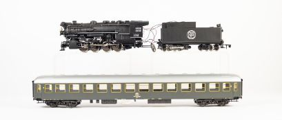 RIVAROSSI FOR AHM BOXED 'O' GAUGE TWO RAIL ELECTRIC PLASTIC MODEL OF AN INDIANA HARBOUR BELT U.S.