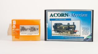 ACORN AND MERCIAN METAL LOCOMOTIVE KIT FOR L.M.S. 2f DOCK TANK. TOGETHER WITH A NU-CAST KIT