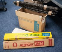 LARGE SELECTION OF MAINLY PECO STREAMLINE 'O' GAUGE TWO RAIL MODEL RAIL TRACK, mainly loose, some