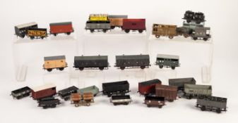 FIVE K's SUPER DETAIL 'OO' SCALE METAL VAN AND WAGON KITS, in original boxes, APPROX 42 MADE UP