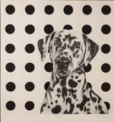 HAYLEY GOODHEAD (TWENTIETH/ TWENTY FIRST CENTURY) ARTIST SIGNED LIMITED EDITION BLACK AND WHITE