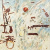 PETER OAKLEY (1935-2007) 7PAIR OF OILS ON CANVAS ?Discovery 1? and ?Discovery 2? Unsigned, both