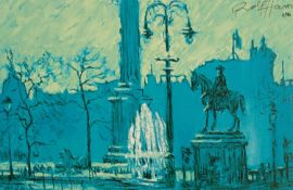 ROLF HARRIS (b.1930) ARTIST SIGNED LIMITED EDITION COLOUR PRINT ?Trafalgar Square?, (3/95), with