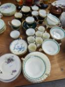 ROYAL WORCESTER 'MANSFIELD' COFFEE SERVICE, ROYAL GRAFTON COFFEE SERVICE, MINTON 'LADY RODNEY'