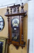 VIENNA WALL CLOCK, WITH SPRING DRIVEN MOVEMENT