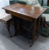 A SEWING MACHINE TABLE