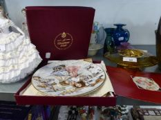 ROYAL WORCESTER 'CHRISTMAS WISH' COLLECTORS PLATE, BOXED WITH CERTIFICATE